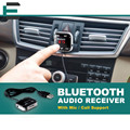 Беспроводной V3.0 + EDR Bluetooth Car Kit 3.5 мм jack Потокового Fm-передатчик AUX Аудио Музыка Приемник Адаптер поддержка TF MiC
