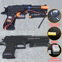 Electric Toy GUN Water Bullet Gun Live CS Weapon Outdoor Pistol kids DIY toys