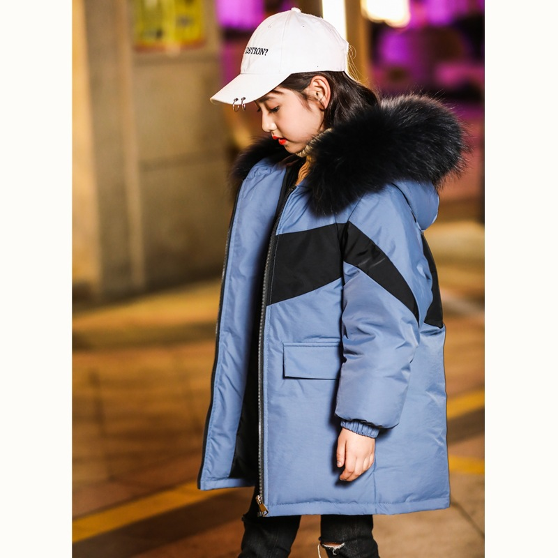 Children down jacket long in private childrens wear mens and womens big boy more winter 2018 new han edition brimChildren down jacket long in private childrens wear mens and womens big boy more winter 2018 new han edition brim