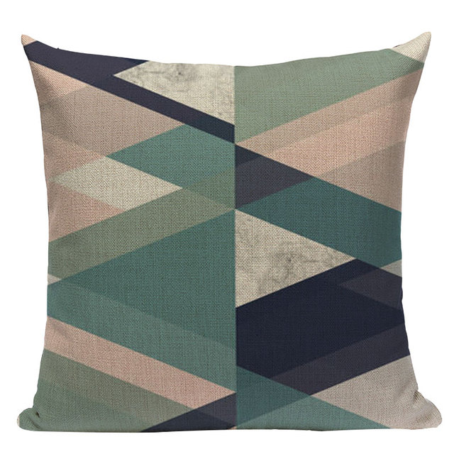 Nordic Pop Geometric Pillowcase Size: L313 Color: L313-7