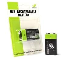 ZNTER ультра-эффективный 9 В 400 мАч USB Перезаряжаемые 9 В литий-полимерный Батарея для RC Аксессуары для видео-квадрокоптеров