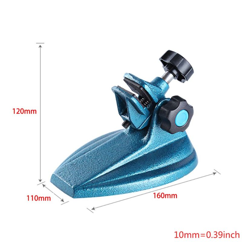 Micrometer Stand Cast Mini Flexible Micrometer Base Holder Stand For Clamping Micrometer