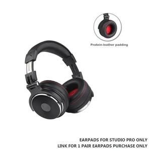 "Image 5 - 1 זוגות Earpads כריות כיסוי עבור Oneodio החלפת אוזניות אולפן אוזניות DJ Pro 95 מ""מ מעל האוזן זיכרון רך כריות אוזן קצף"