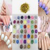45 Colors Ablaze New Style Nail Art Hexagon Paillette Glitter For Acrylic Tips UV Gel Nails