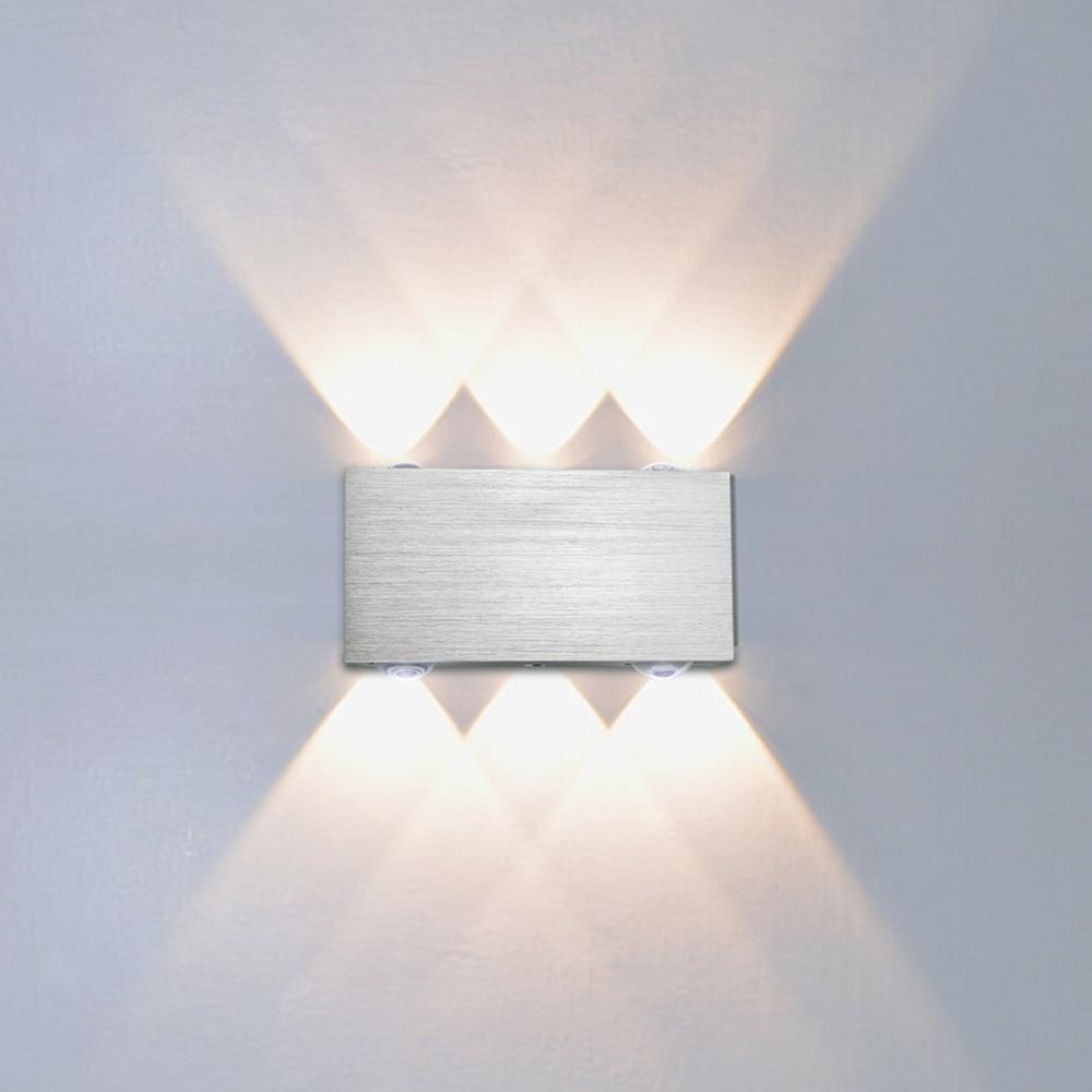 2017 New Led Wall Lamp Sconce Bedroom Home Lighting Bedside Living Room Aisle Corridor White/warm White Lampada De Led Lights & Lighting Led Indoor Wall Lamps