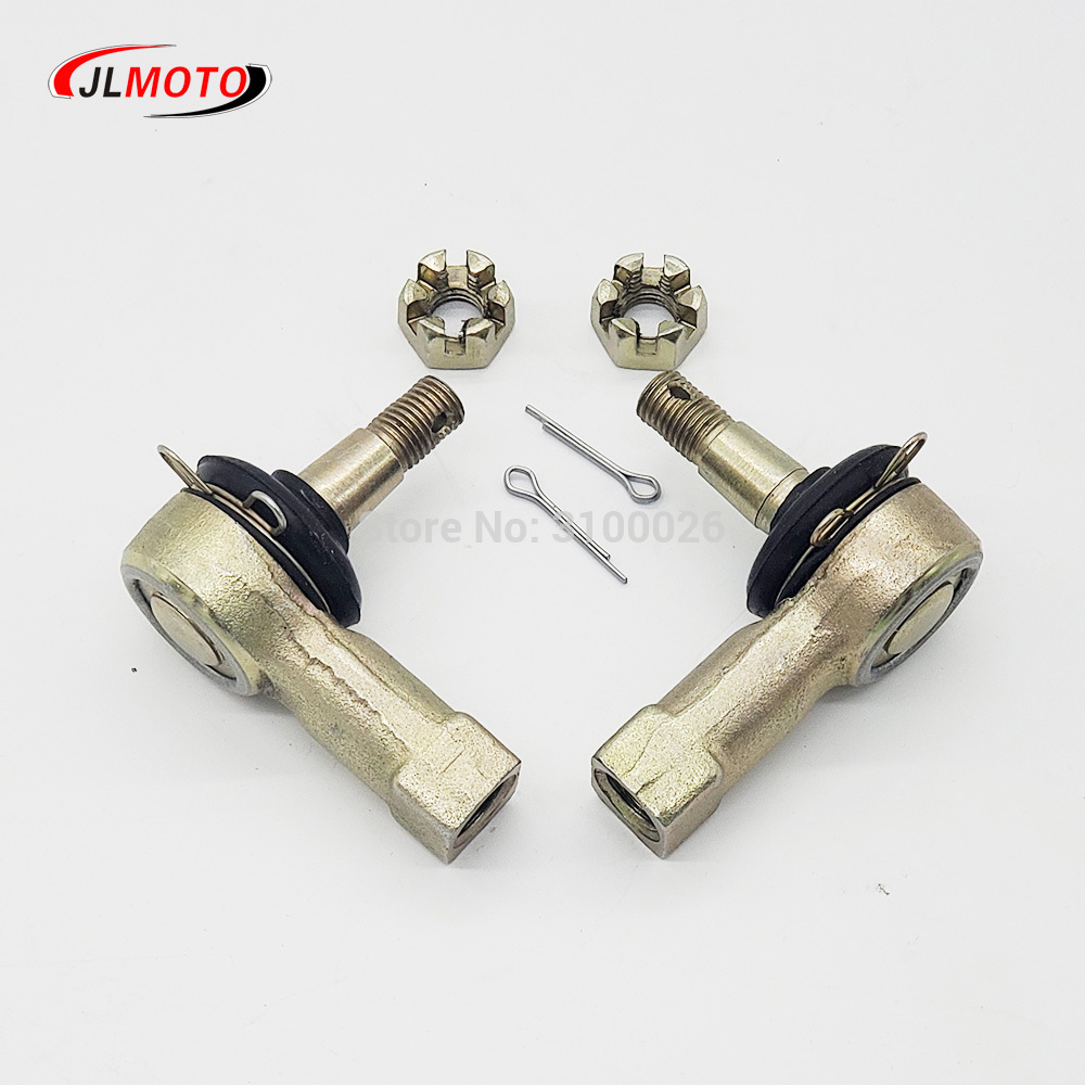 1 Pair M12-M10 Tie Rod Ends Kit Ball Joints Fit For Stels Guepard ATV 800 ATV Quad Bike Parts