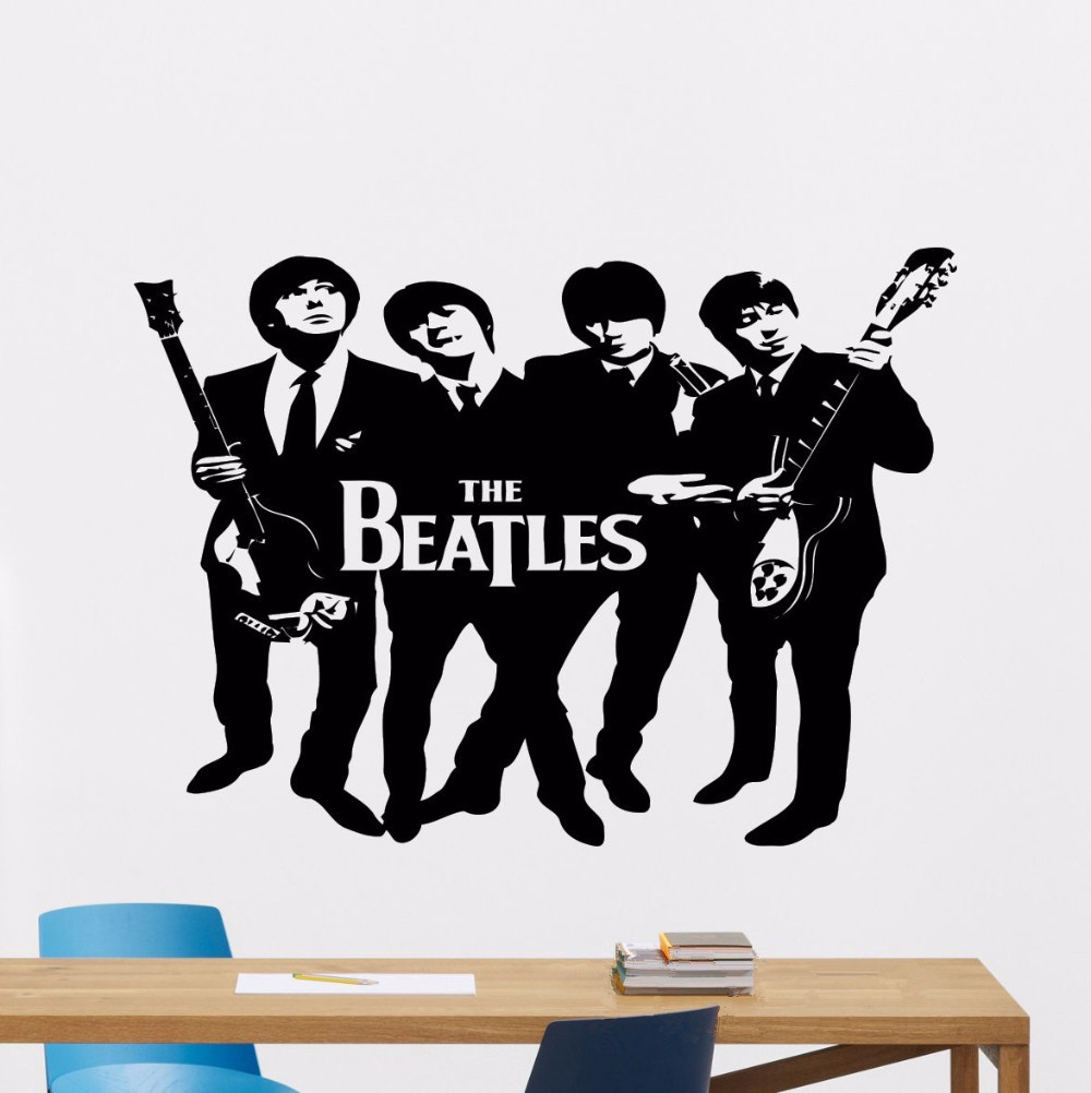 The Beatles Wall Sticker Greatest