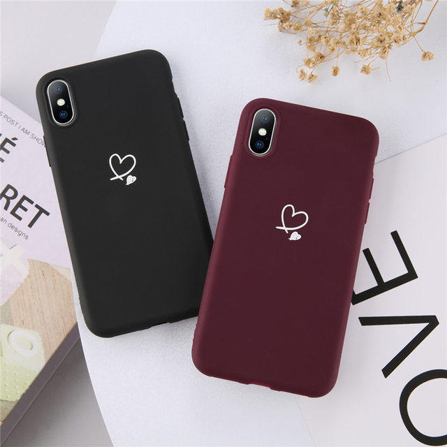 Soft Lovely Phone Case For Apple iphone