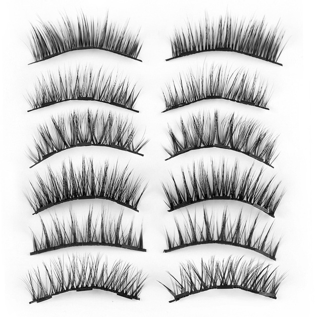 3f09c678b60 4 Pcs/ Set Triple Magnetic Glue-free Eyelashes Extension Tools Full  Coverage Lashes Thick