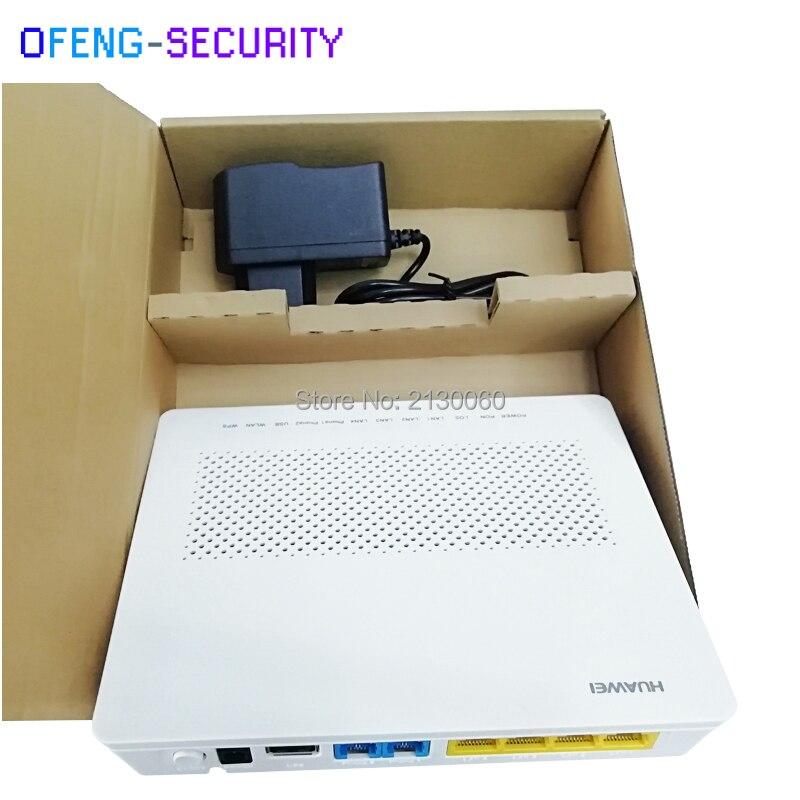 100Pcs Huawei Hg8346r Epon Onu Wifi With Port 4FE+2Tel+1USB+WIFI Ftth Epon Onu Modem Same As ZTE F460, English Version