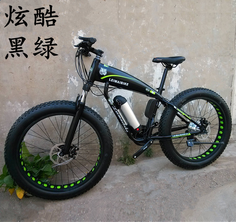 6df1cbb5eb6 Kalosse M4000 27speed 26*4.0 tires Beach bicycle electric snow bike 48V  350W electric mountain bike -in Electric Bicycle from Sports &  Entertainment on ...