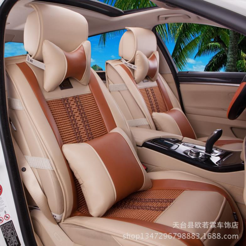 2014 new popular products bamboo charcoal skin ice silk cushion Wholesale car seat that summer seasons seat cushion