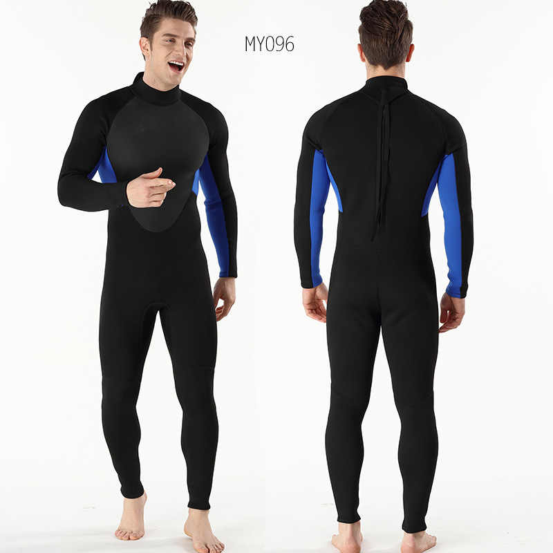 dead5afebf ... 3MM Mne s Waterproof Diving Suit Against Cold Warm Men s Surf Clothes  Diving Suit Size S- ...