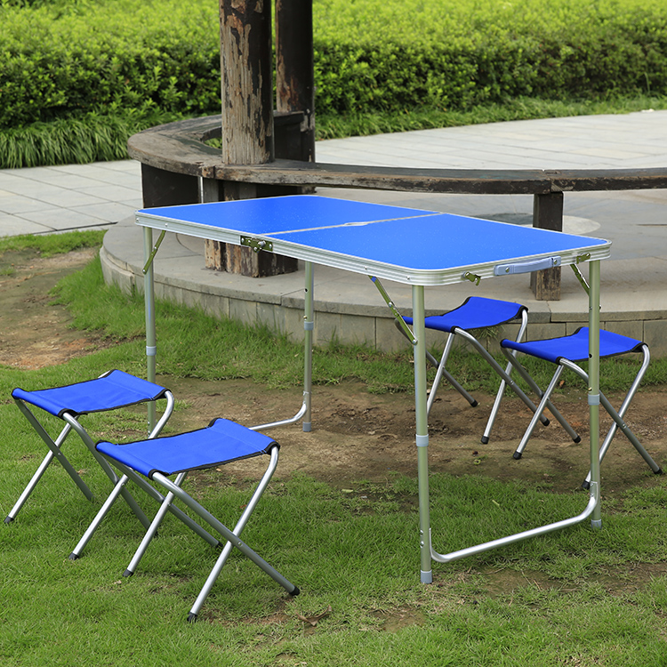 Outdoor aluminum folding tables and chairs portable street for Outdoor furniture vendors