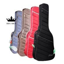 짙은 3941inch 클래식 기타 가방 40 / 41inch 민속 어쿠스틱 기타 패키지 면봉 기타 가방베이스 일렉트릭 기타 가방 추가