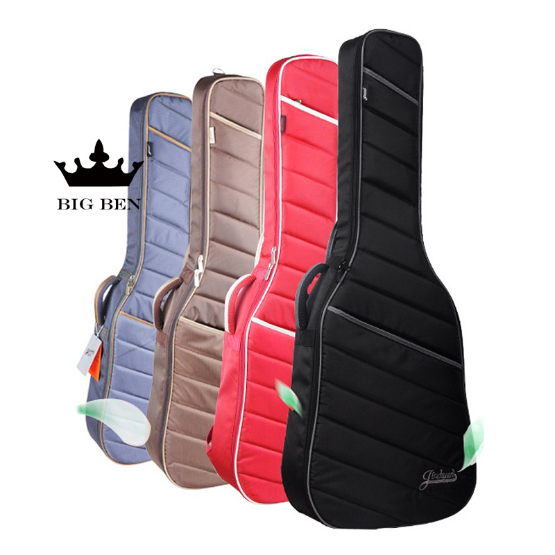 freight free thickening 39inch classical guitar bag 40/41inch folk acoustic guitar package cotton bass electric guitar bag two way regulating lever acoustic classical electric guitar neck truss rod adjustment core guitar parts