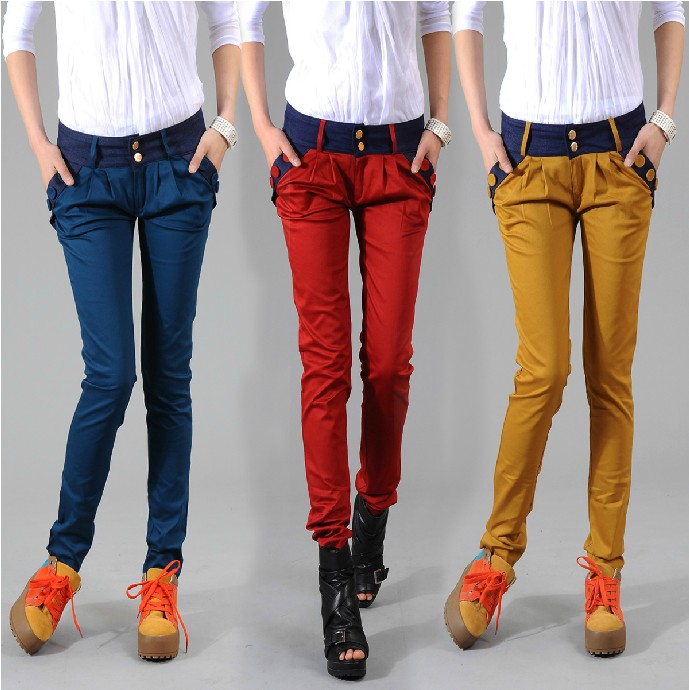Popular Yellow Trouser-Buy Cheap Yellow Trouser lots from China ...