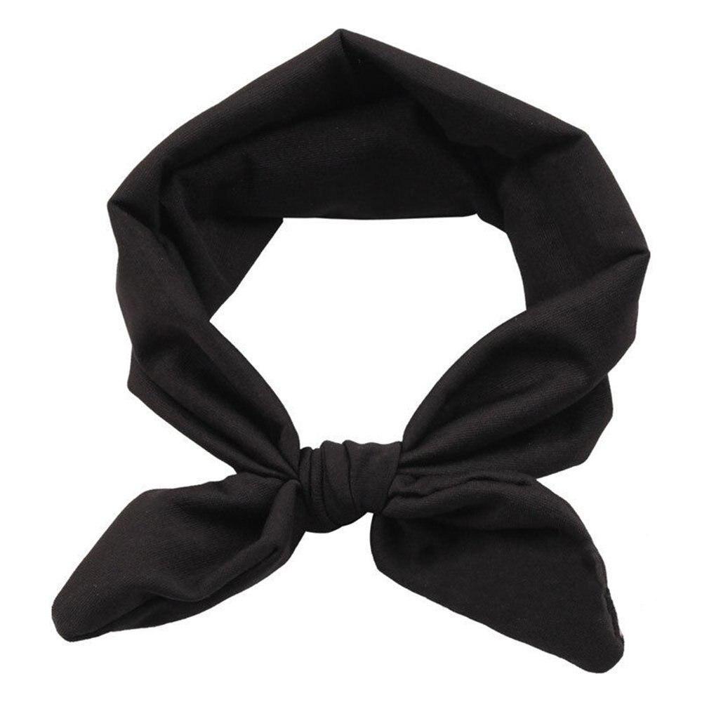 HOT SALE Black Baby Girl Headband Toddler Headdress Child Hairband Elastic