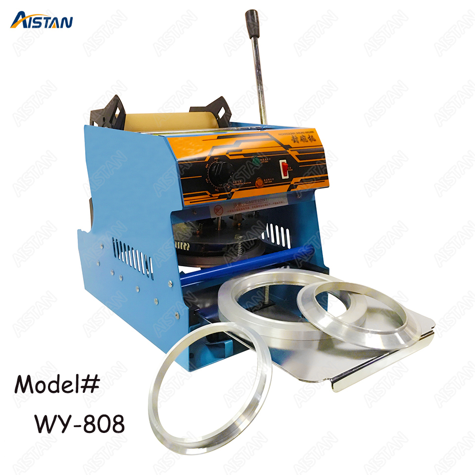 Wy808 Hot Selling Manual Cup/Bowl Sealing Machine