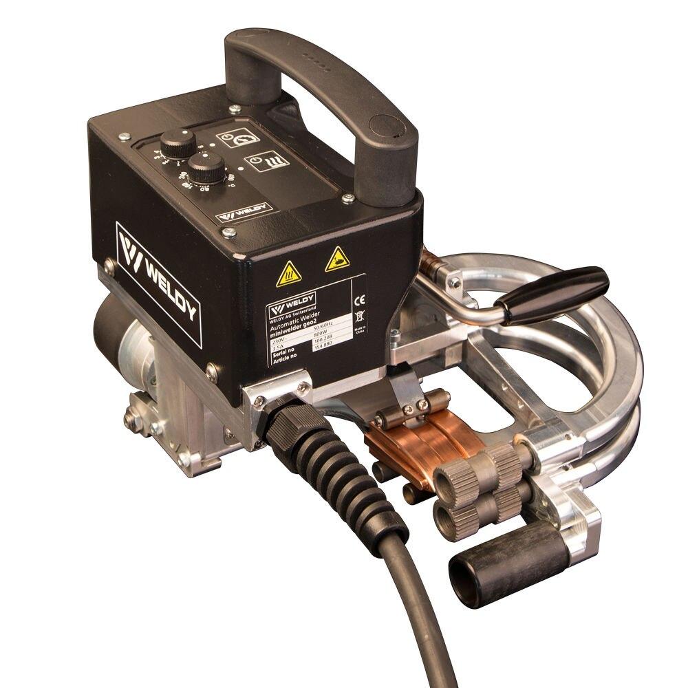 Швейцарский weldy GEO2 Wedge мини сварочный аппарат для сварки geomemberance перекрытие Ширина: 100 мм