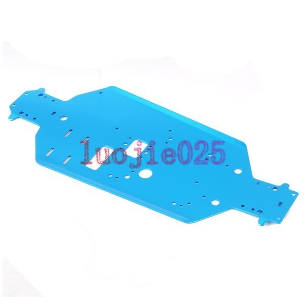 06056 Aluminum Metal Chassis For HSP RC 1/10 94188 94166 Car Buggy Truck Part