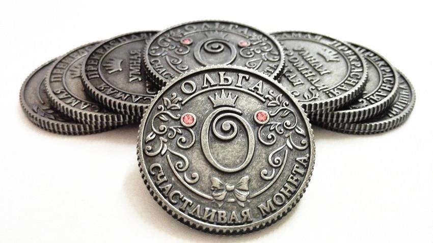 Bahasa rusia dompet untuk koin replika emas Gubi kuno Langka Redbook koin sepakbola koin peringatan Gratis Pengiriman
