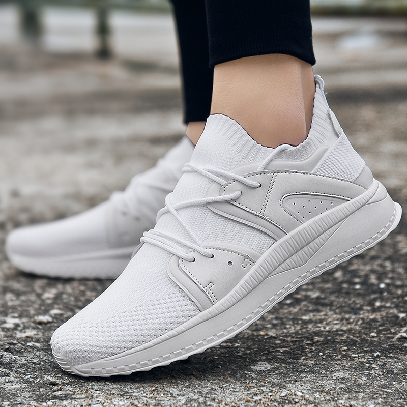 Мужская спортивная обувь для бега мужские кроссовки дышащие сетчатые уличные спортивные легкая обувь мужская обувь - 2