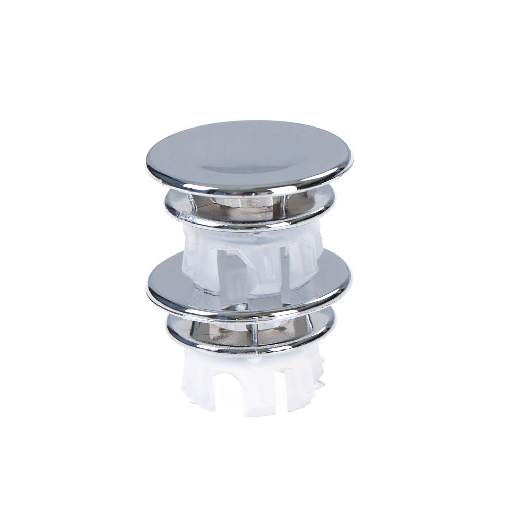 2pcs Bathroom Sink Round Overflow Cover Decoration Ring Replacement Home Useful
