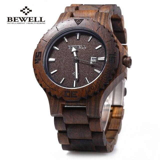 Zegarek drewniany BEWELL różne kolory