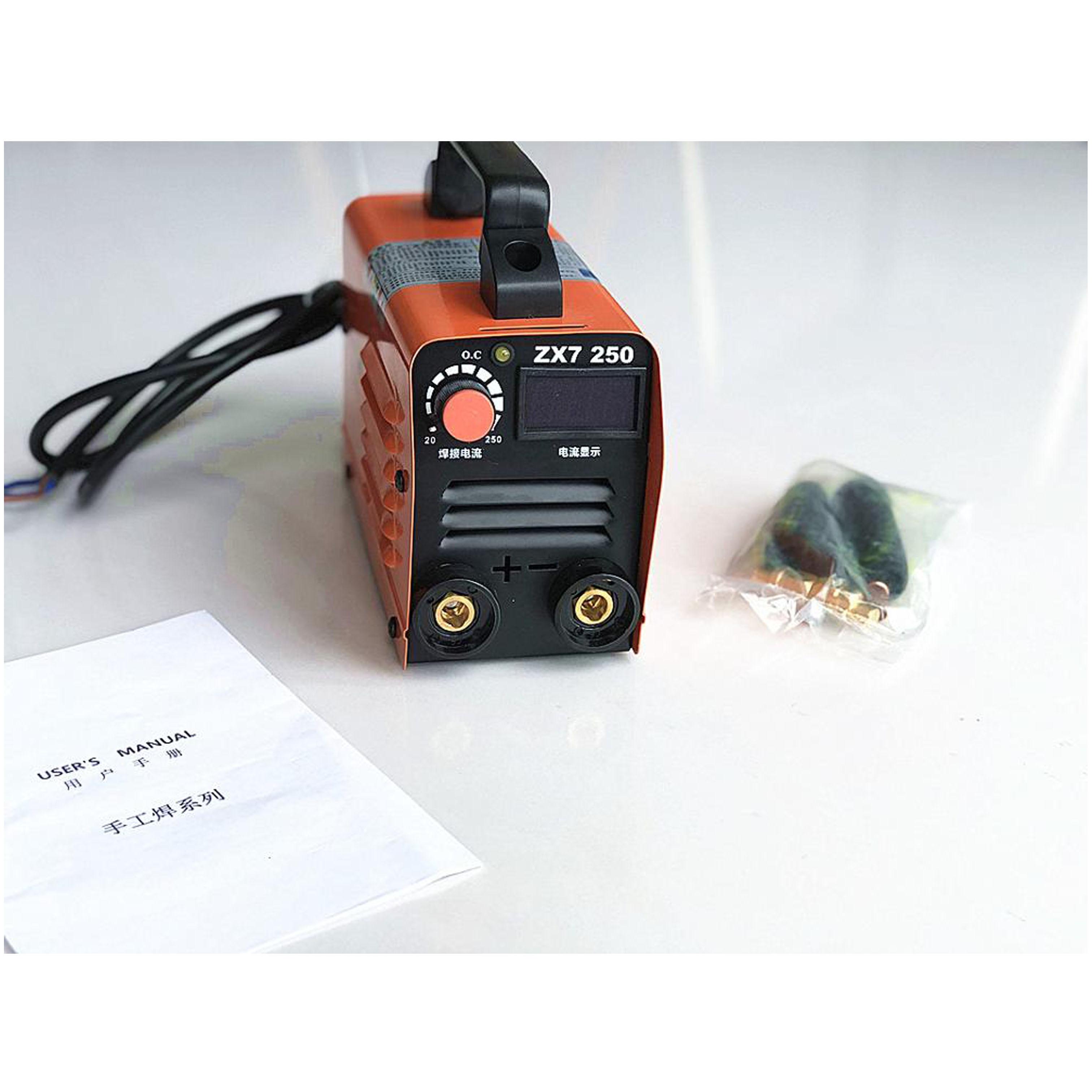 EU RU Delivery For free 250A 220V Compact Mini MMA Welder Inverter ARC Welding Machine Stick Welder
