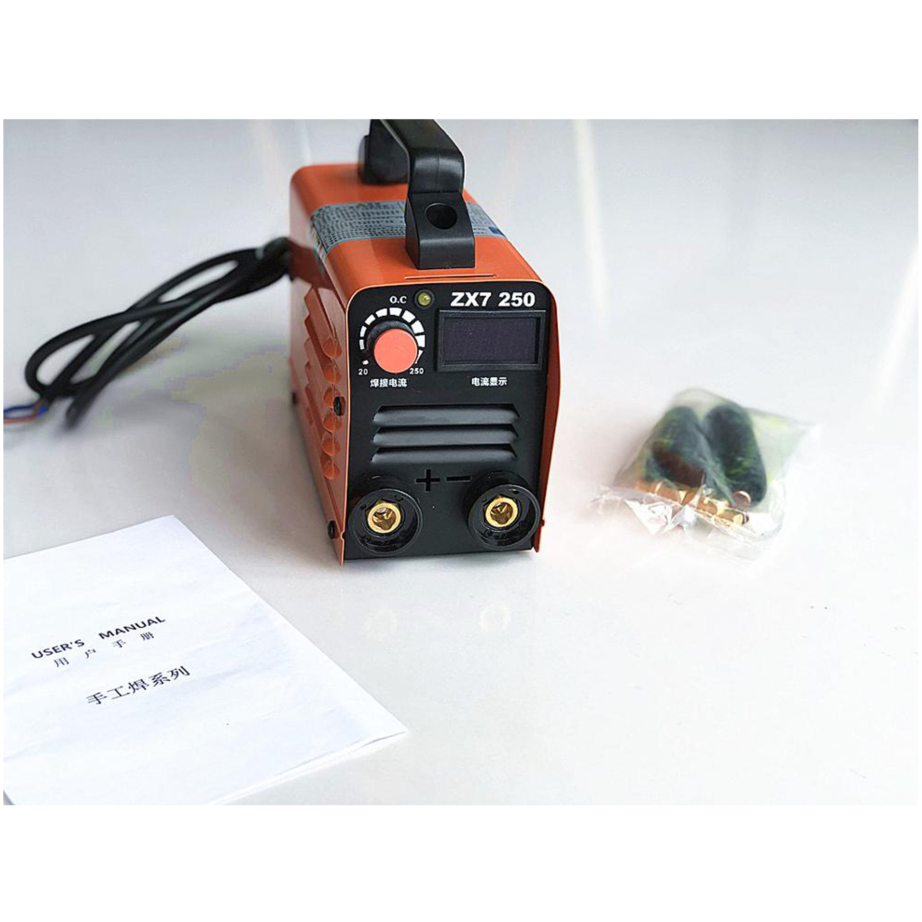 RU Delivery For Free 250A 220V Compact Mini MMA Welder Inverter ARC Welding Machine Stick Welder