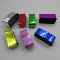 Colorful Retangular 2*5cm Fire Retardant Foil Paper Confetti Shredded Paper for party