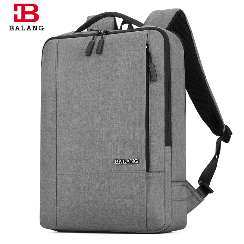 BALANG Brand New Unisex Business Casual Backpacks for Men 15.6 Laptop Bagpack Teenager Mochila College Travel Notebook Rucksacks