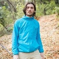 Unisex Outdoor Sport Hiking Camping Quick Dry Waterproof Breathable Jacket Lightweight Coat UV Protection Men Women