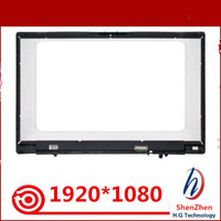 """Free shipping NEW For xiaomi notebook air pro 15.6""""IPS 1920x1080 NV156FHM N61 front glass +lcd screen matrix assembly