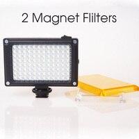 Ulanzi LED Video Light Photo Lighting On Camera Hot Shoe Dimmable LED Lamp For Canon Nikon