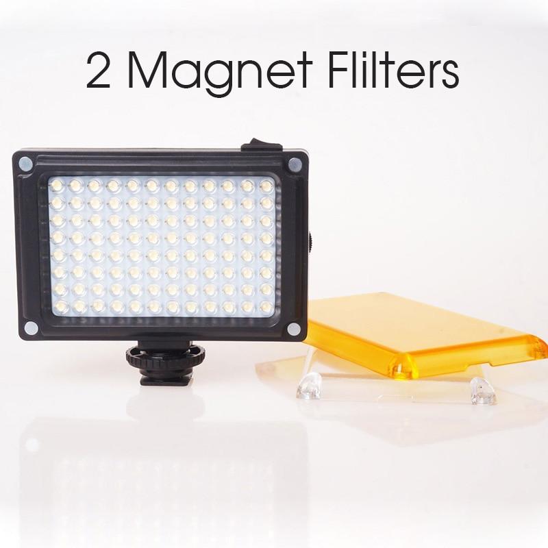 Ulanzi 카메라에 LED 비디오 라이트 사진 조명 캐논 니콘 소니 캠코더 DV DSLR 유튜브에 대한 핫 구두 Dimmable LED 램프