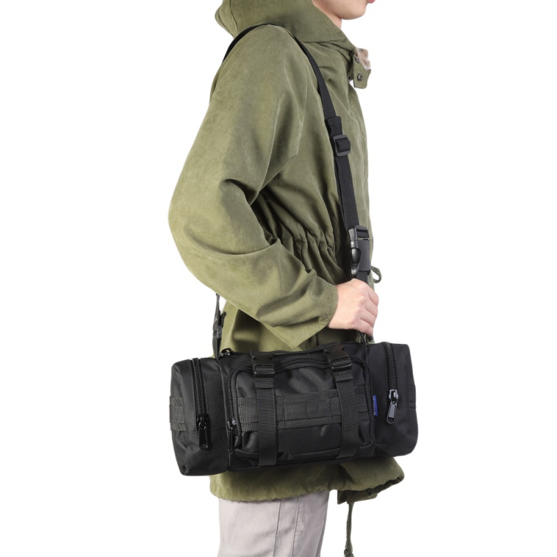 Men Women Multi Function Tactical Bag Military Molle Bag pouch Waist Bag Shoulder Messenger Crossbody Bag Hunting Camping|Hunting Bags|   -