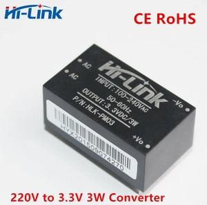 Image 3 - משלוח חינם 2 יח\חבילה היי קישור HLK PM03 220v 3.3V 3W AC DC מיני גודל מבודד צעד למטה אספקת חשמל מודול