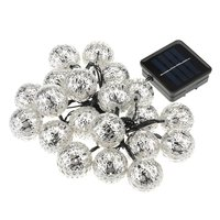 Garden Patio Party Wedding 20 LED Solar Christmas Light Waterproof Portable Indoor And Outdoor Christmas Light