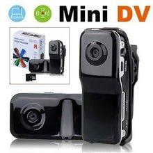 MD80 мини видеокамера Поддержка Net-Камера Mini DV камера Поддержка 8G TF карты 720*480 Vedio прочного Запись Cam