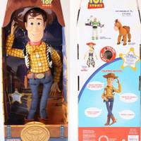43cm Toy Story 3 Talking Woody Action Toy Figures Model Toys Children Christmas Gift Free Shipping
