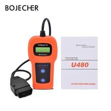 U480 can bus and engine OBD2 Code Reader Scanner for VW