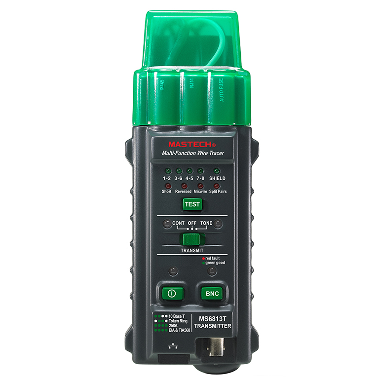 MASTECH MS6813 Multi-function Network Cable Tracker Support Testing 10Base-T T568A  T568B Wire Network Telephone Cable Tester  цены