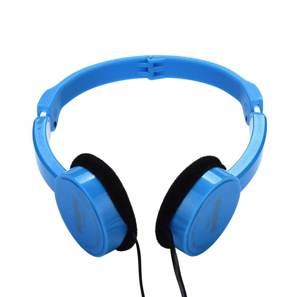 Kubite Kids Headphones wire Gaming Headset 3.5mm with Microphone Foldable Big earphone For IKids Earphone#P4