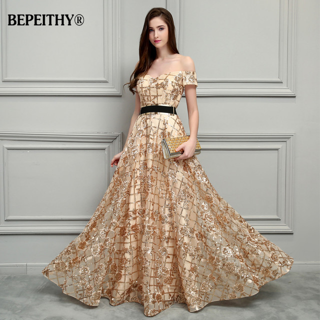 Lace Long Evening Dresses