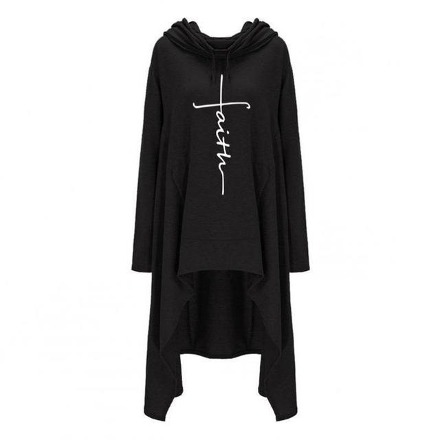 Fashion Letter Printing Harajuku Hooded Sweatshirt