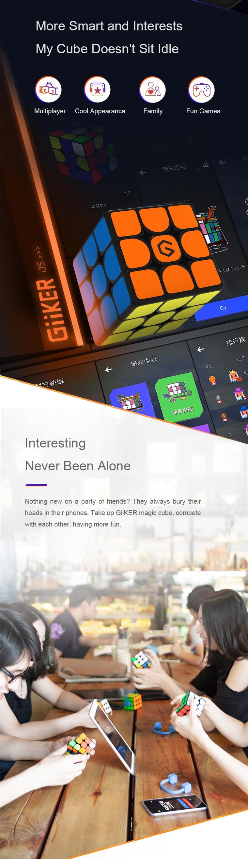 [Update Version ] Original Xiaomi Mijia Giiker i3s AI Intelligent Super Cube Smart Magic Magnetic Bluetooth APP Sync Puzzle Toys (12)