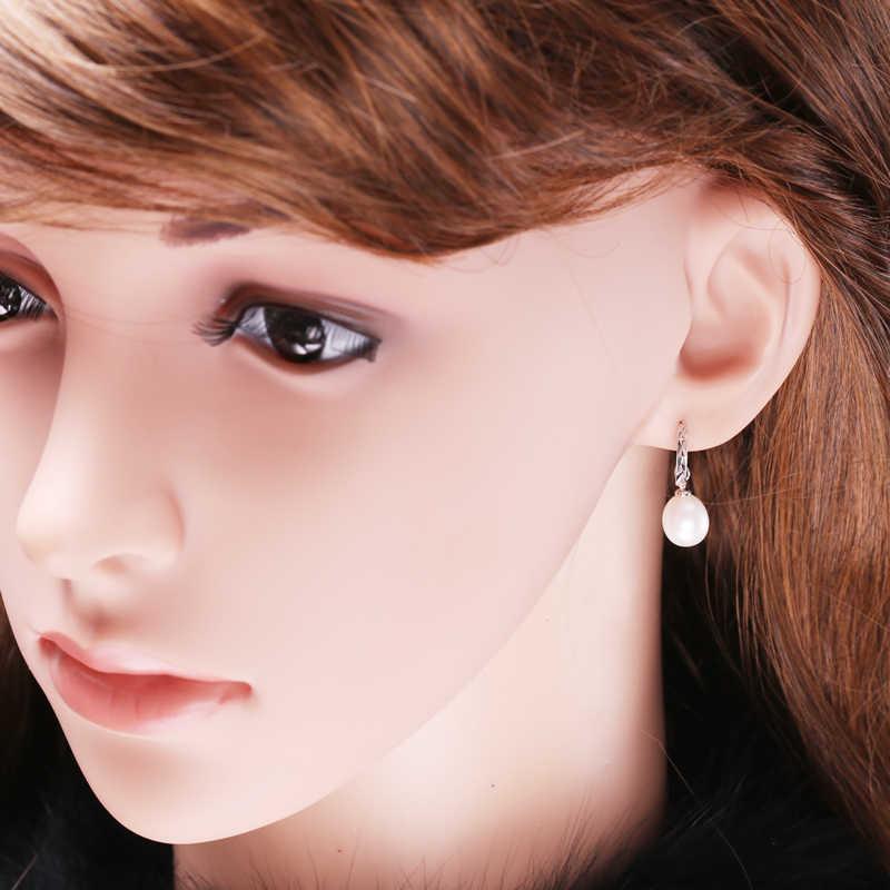 FENASY Pearl Jewelry ,Black pearl Jewelry Sets for Women Pearl necklaces & pendants/long earring,earings for women jewelry box