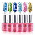 Perfect Summer 6pcs Nail Polish UV Soak off Gel Polish Brand Long Lasting Led Gel Varnish DIY Nail Art Salon Gel Lacquer